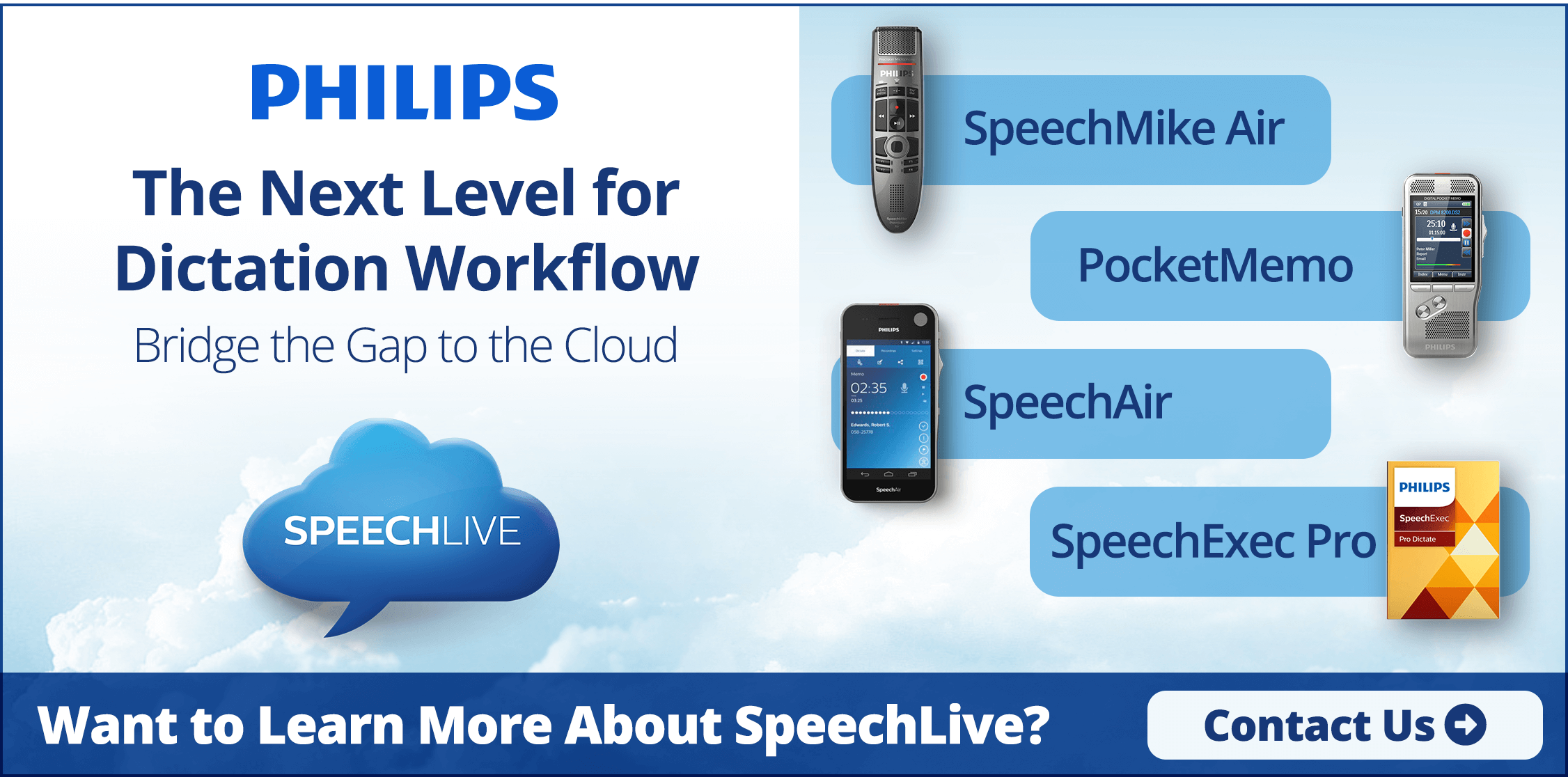 Philips SpeechLive - The Next Level for Dictation Workflow