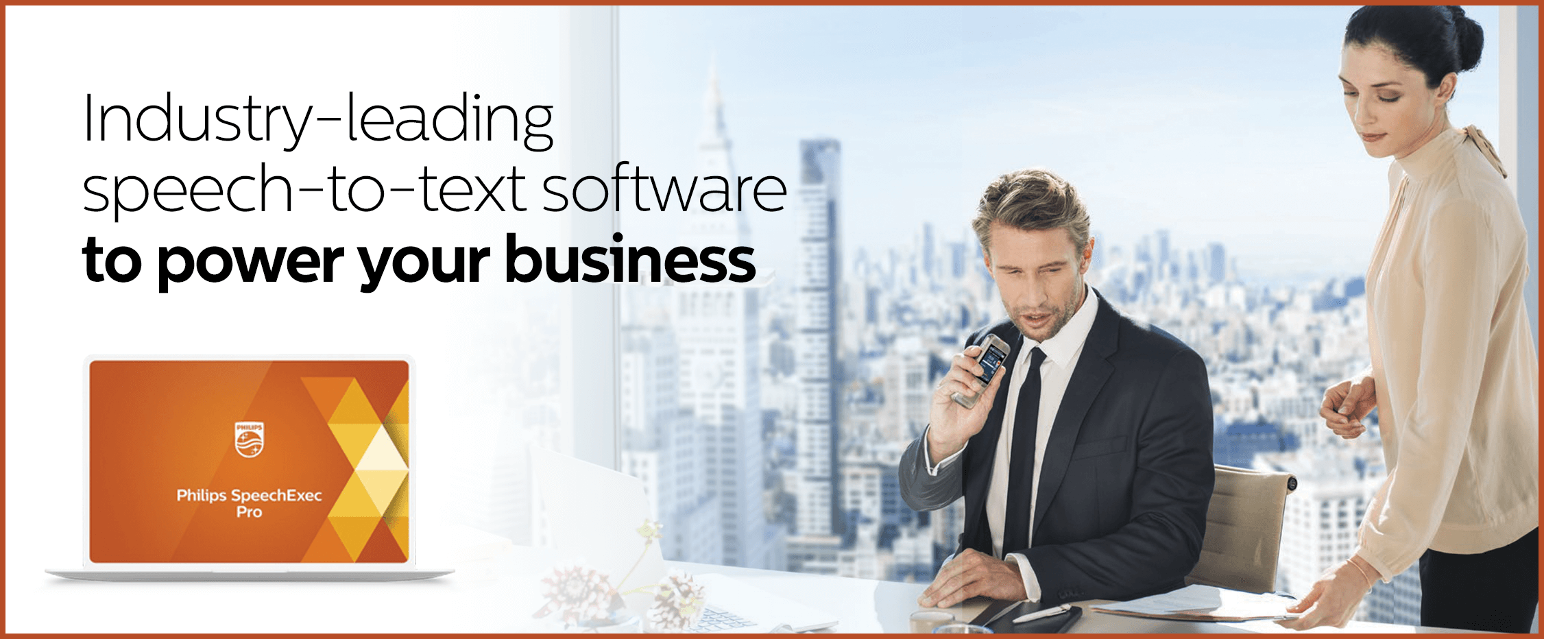 Industry-leading speech-to-text software to power your business - Philips SpeechExec Pro
